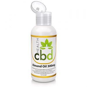 health cbd almond oil front