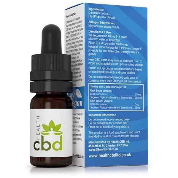 health cbd oil side 2