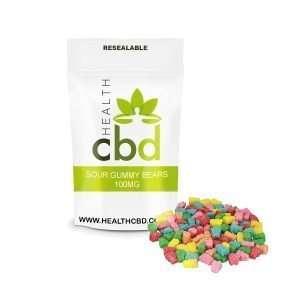cbd gummy bears pouch