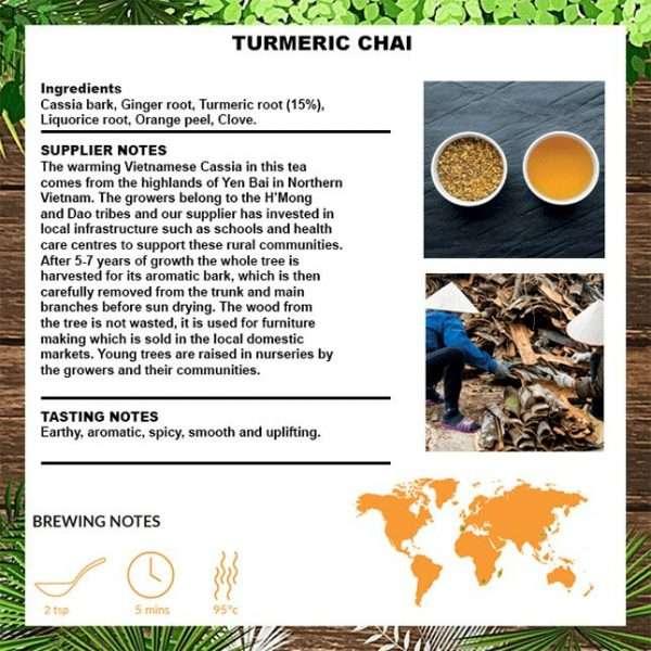 turmeric tea info