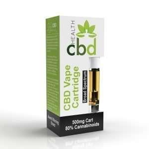 CBD Vape Cartridge Box